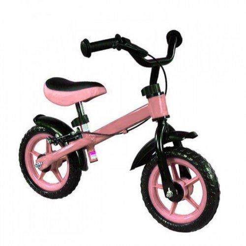 Bicicleta Balance bike with brakes Nemo - Pink