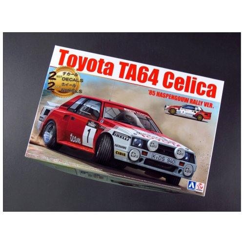 1:24 Toyota TA64 Celica 85 Haspengouw Rally Version 1:24