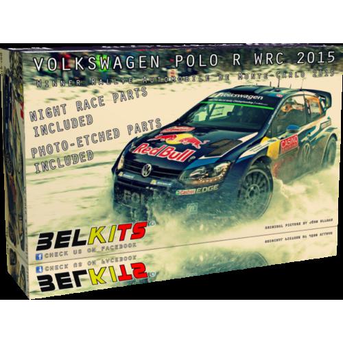 1:24 Volkswagen Polo R WRC 2015Winner Rallye Automobile de Monte-Carlo 2015 1:24