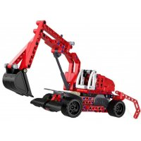 Excavator – building blocks - PULL BACK (C52012W)