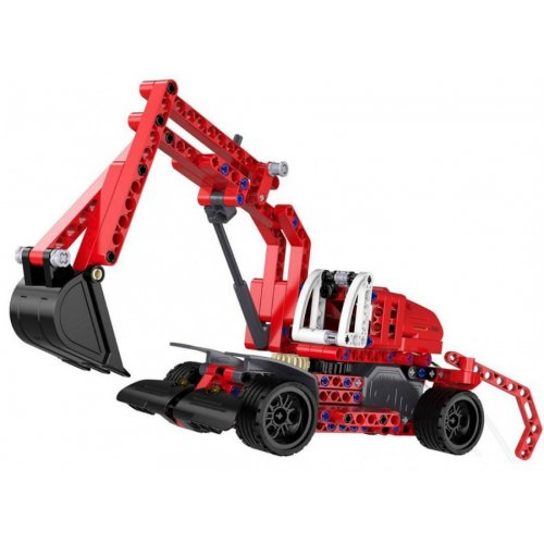 Excavator Double Eagle - Piese Lego - PULL BACK (C52012W)
