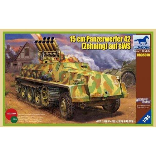 1:35 15cm Panzerwerfer 42 (Zehnling) auf sWS 1:35