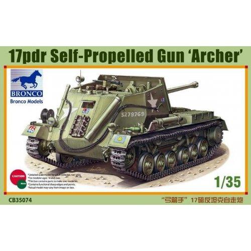1:35 17pdr Self-Propelled Gun 'Archer' 1:35