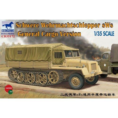 1:35 German sWs Tractor Cargo Version 1:35