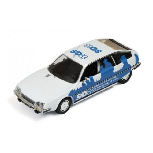 Macheta Auto IXO, Citroen CX 1983 (SAD-Salon des Artiste D e Corateurs) Blue 1:43
