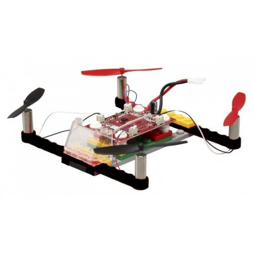 Drone 021 - to be built from pieces (2.4GHz, 4CH, gyroscope, RTF) - Black