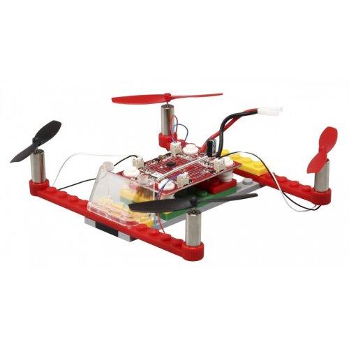 Drona 021 de construit RTF (2.4GHz, 4CH, giroscop) - Rosu