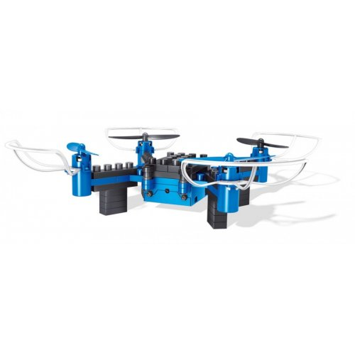 Drone 8818 - to be built from pieces (2.4GHz, gyroscope, RTF) - Blue