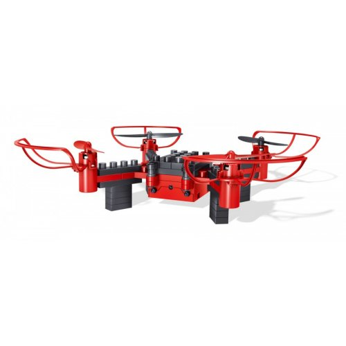 Drone 8818 - to be built from pieces (2.4GHz, gyroscope, RTF) - Red