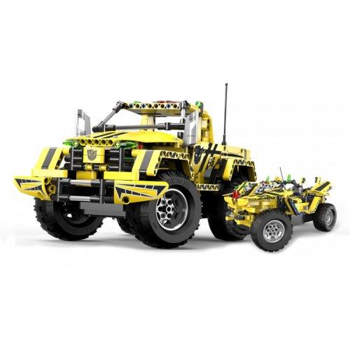 Bumblebee Pickup - do zbudowania z klocków - ZDALNIE STEROWANY (C51003W)