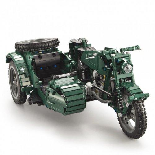Moto Double Eagle, Military bike building bricks 629 elemente