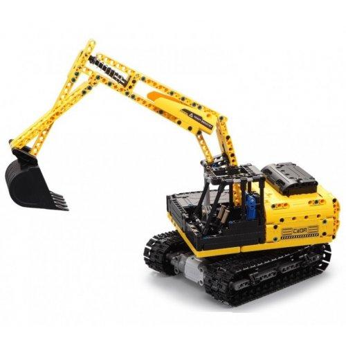 Excavator - building blocks - REFURBISHED (battery damaged)
