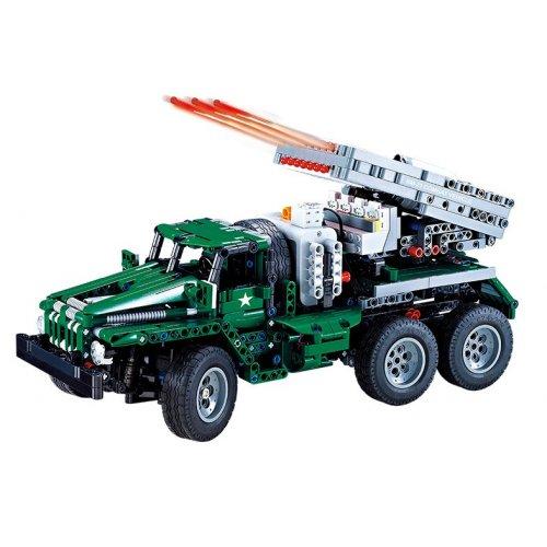 Masina Double Eagle, Combat vehicle, building bricks, 1369 piese cu telecomanda