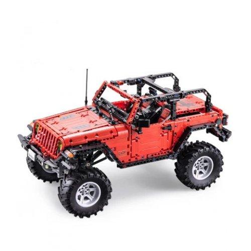 Jeep Wrangler - building blocks
