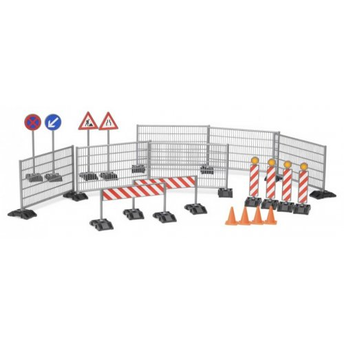 A set of accessories for roadworks (Scale 1:16)