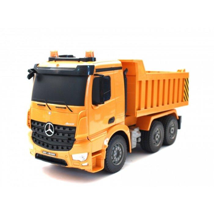 Masina Double Eagle, Dump Truck RC Mercedes-Benz Arocs 27MHz cu Telecomanda