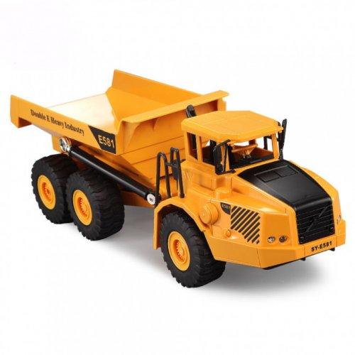 Camion H-Toys, Volvo Dump Truck 1:26 2.4GHz RTR cu telecomanda