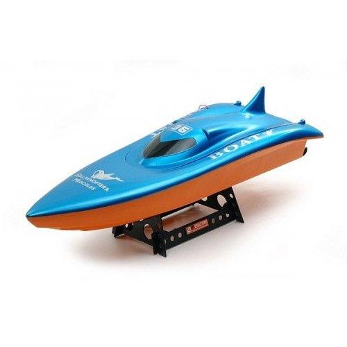 Barca Double Horse, Volvo Racing Boat Albastru cu telecomanda