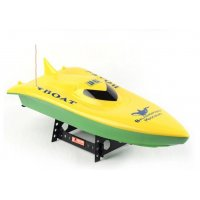 Barca Double Horse, Volvo Racing Boat cu Telecomanda - Galben