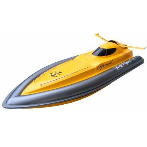 Barca cu Motor Double Horse 7006 27MHz RTR - Galben