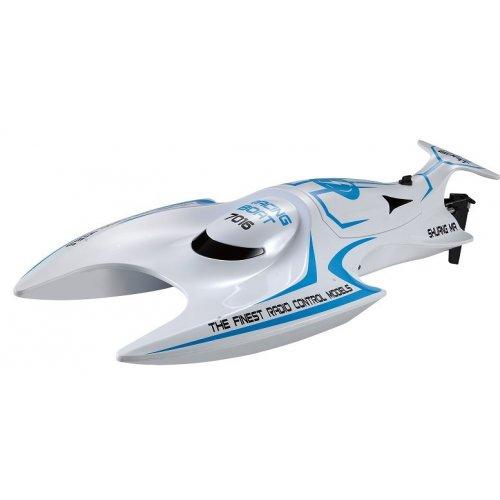 Barca Double Horse, 7016 2.4GHz Cu Telecomanda - Albastru