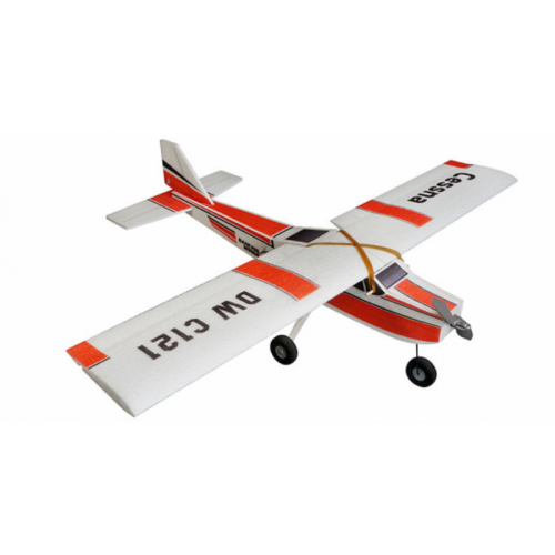Aeromodel Samolot Cessna Motor+ESC+Servo