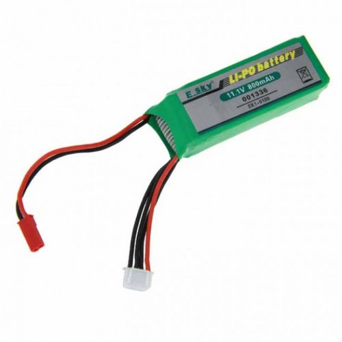 11.1V 800mAh Li-Po - EK1-0188 - 001336 battery