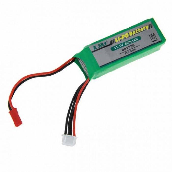 11.1V 800mAh Li-Po - EK1-0188 - 001336 battery