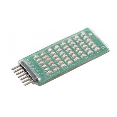Wskaźnik napięcia LED do akumulatorów Lipo 2-6
