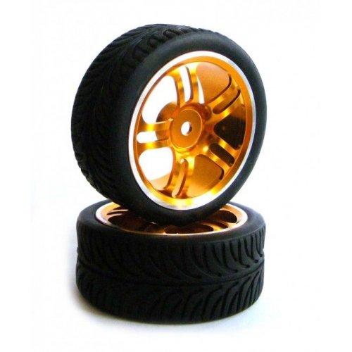 GPX aluminium On Road wheels 1:10 2pcs - 122111