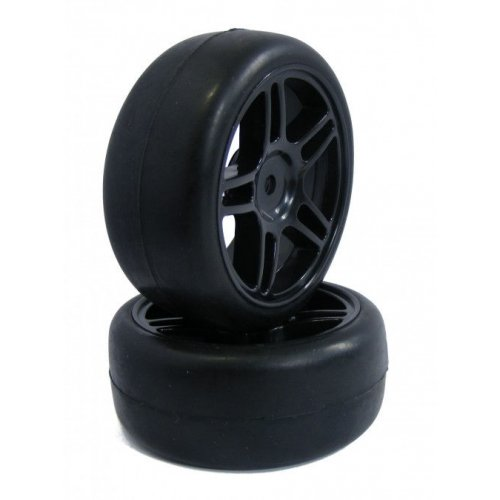GPX On Road Slick wheels 1:10 2pcs - 22006B