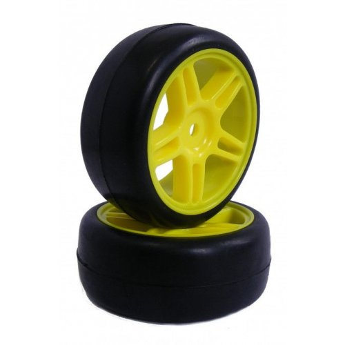 GPX On Road Slick wheels 1:10 2pcs - 22026Y