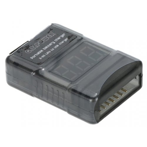 Przenośna ładowarka urządzeń USB zasilana z akumulatorów 2S-6S LiPo