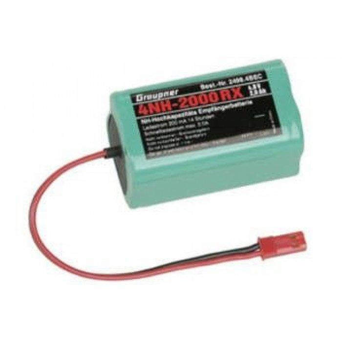 4,8V NiMH 2000 mAh cube battery pack