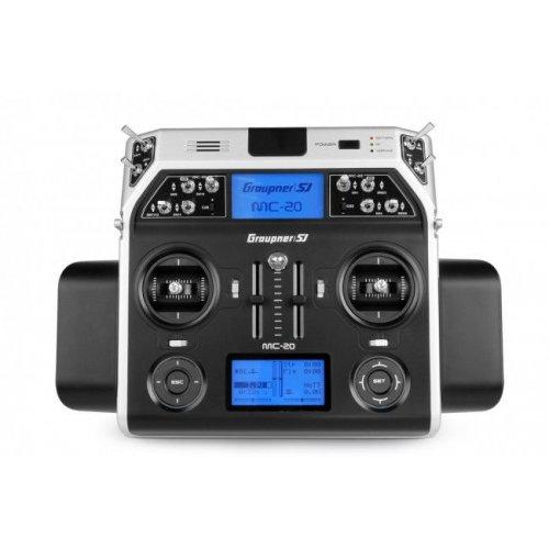 Aparatura MC-20 HoTT 2.4GHz 12CH (odbiornik GR-16, interfejs USB, pulpit, walizka, akumulator, Å'adowarka)