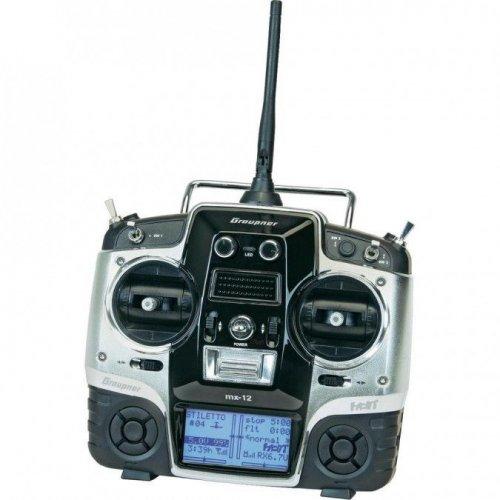 MX-12 HoTT 2.4GHz 6CH (1 odbiornik, interfejs USB, karta pamiÄ™ci, akumulator, Å'adowarka)
