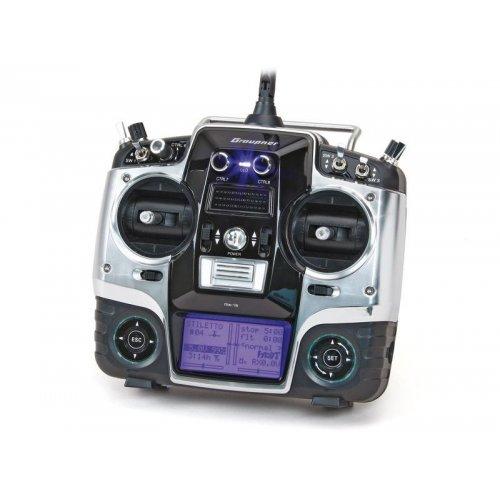 MX-16 HoTT 2.4GHz 8CH (odbiornik GR-16, interfejs USB, karta pamiÄ™ci, akumulator, Å'adowarka)
