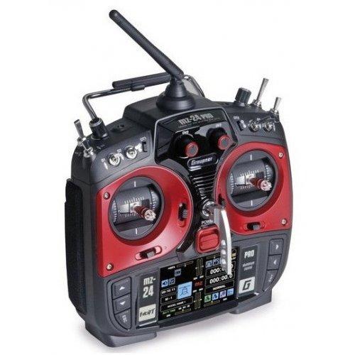 Aparatura MZ-24 PRO HOTT 2.4GHz 12CH (odbiornik GR-18, interfejs USB, walizka, akumulator, Å'adowarka)