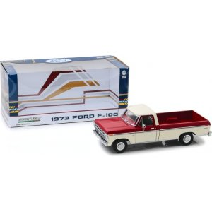1973 Ford F-100 - Red and White Two-Tone 1:18