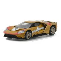 2017 Ford GT 1966 #5 Ford GT40 Mk II Tribute Solid Pack - Ford GT Racing Heritage Series 1 1:64