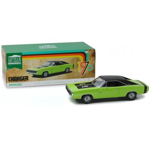 Artisan Collection - 1970 Dodge Charger R/T SE - Sublime Green 1:18