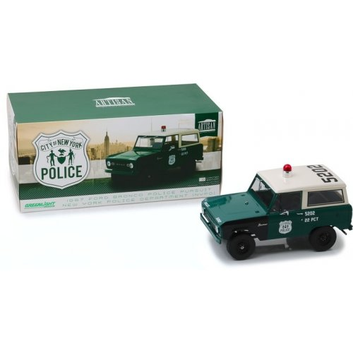 Artisan Collection - 1967 Ford Bronco - New York City Police Department (NYPD) 1:18
