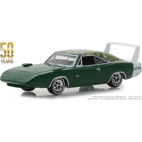 1969 Dodge Charger Daytona Mod Top 50th Anniversary Solid Pack - Anniversary Collection Series 7 1:64
