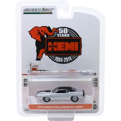 Anniversary Collection Series 9 - 1970 Dodge HEMI Challenger R/T - 426 HEMI 50 Years Solid Pack 1:64