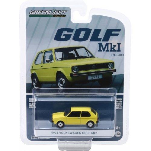 Anniversary Collection Series 9 - 1974 Volkswagen Golf Mk1 - Volkswagen Golf 45th Anniversary Solid Pack 1:64