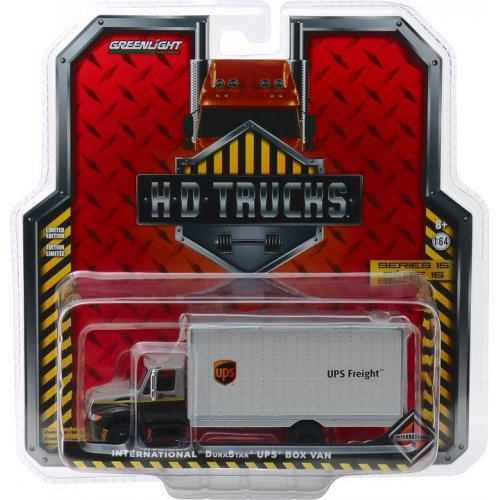 2013 International Durastar Box Van - United Parcel Service (UPS) Freight Solid Pack - H.D. Trucks Series 15 1:64
