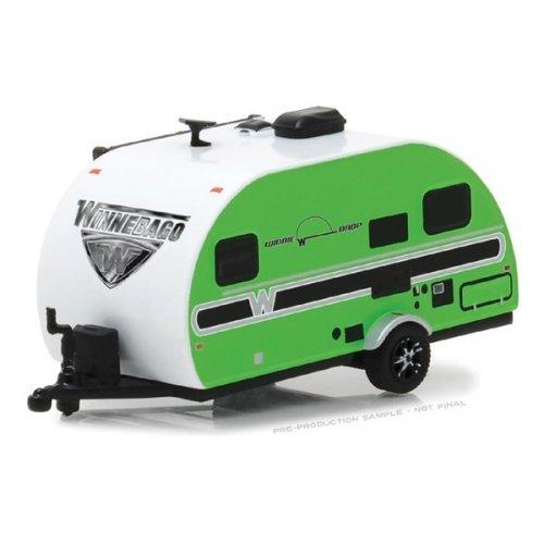 2017 Winnebago Winnie Drop - Green Solid Pack - Hitched Homes Series 4 1:64