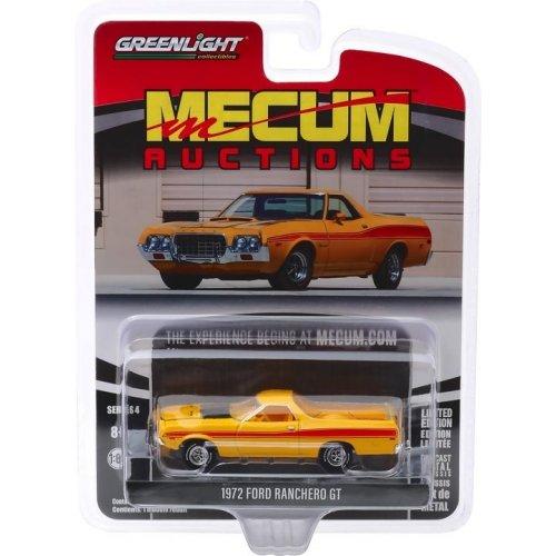Macheta Greenlight, Mecum Auctions Collector Cars Series 4 - 1972 Ford Ranchero GT (Las Vegas 2018) Solid Pack 1:64