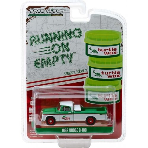 1962 Dodge D-100 - Turtle Wax Solid Pack - Running on Empty Series 7 1:64