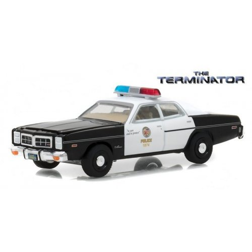 The Terminator (1984) - 1977 Dodge Monaco Metropolitan Police Solid Pack - Hollywood Series 19 1:64